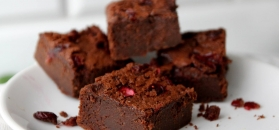 Gliniaste brownie