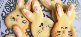 Wielkanocne ciasteczka króliczki